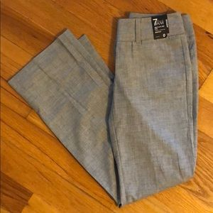New York and company gray signature fit boot cut 0